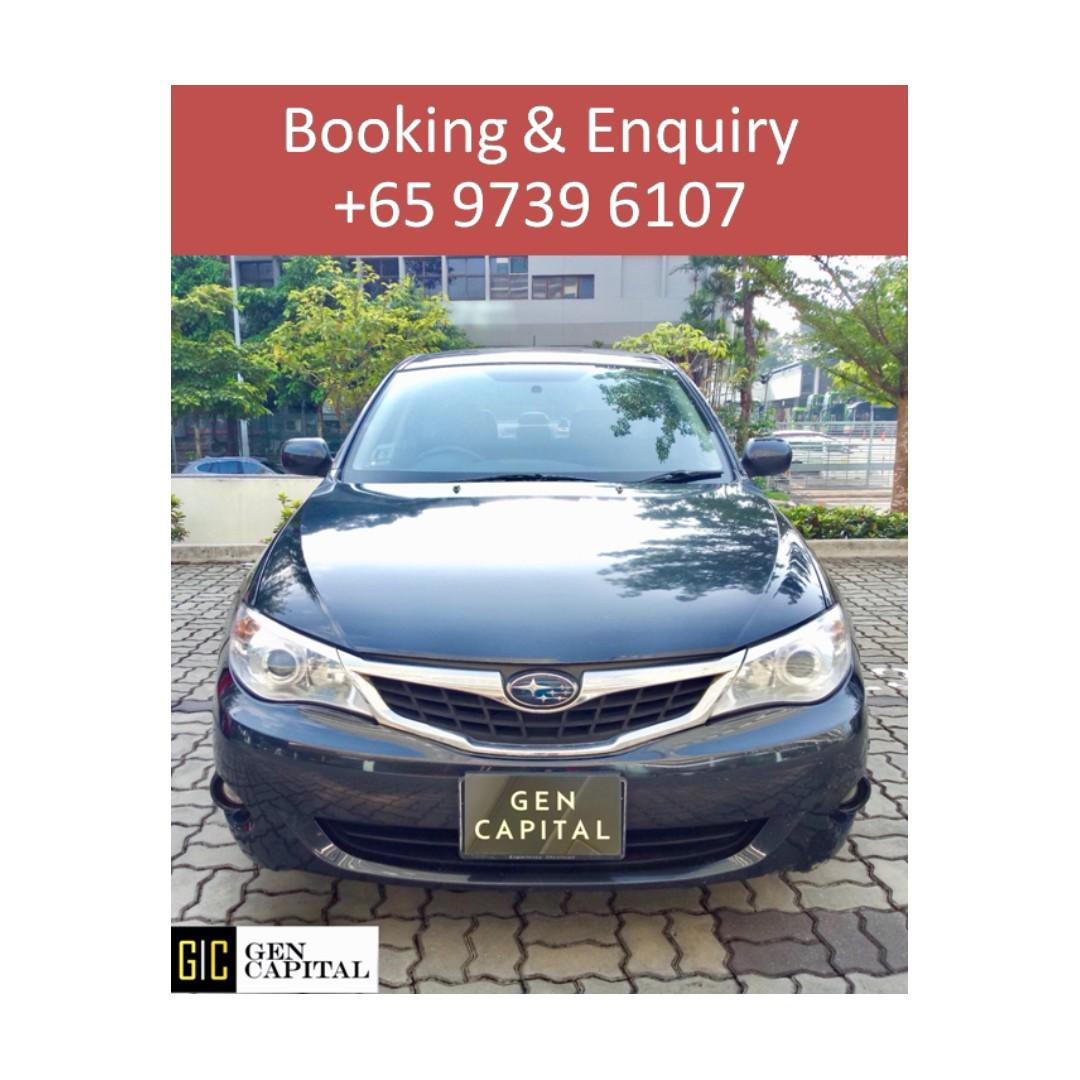 Subaru Impreza Manual - @97396107 Many ranges of car to choose from, with very reliable rates!