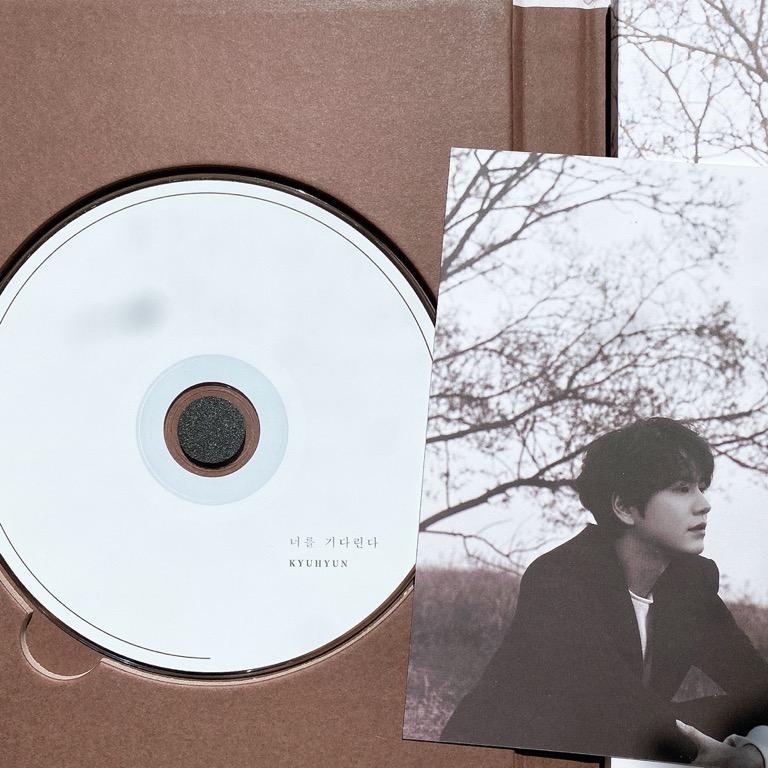 Super Junior Kyu Hyun 3rd mini album Waiting, Still
