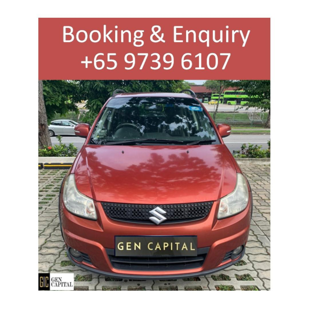 Suzuki SX4 Hatchback - @97396107 Many ranges of car to choose from, with very reliable rates!