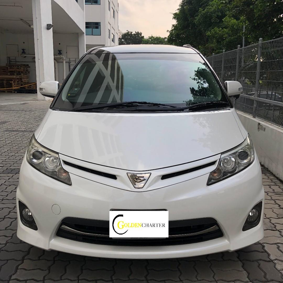 Toyota Estima For Rental ! Gojek Rebate & Personal Use Welcome