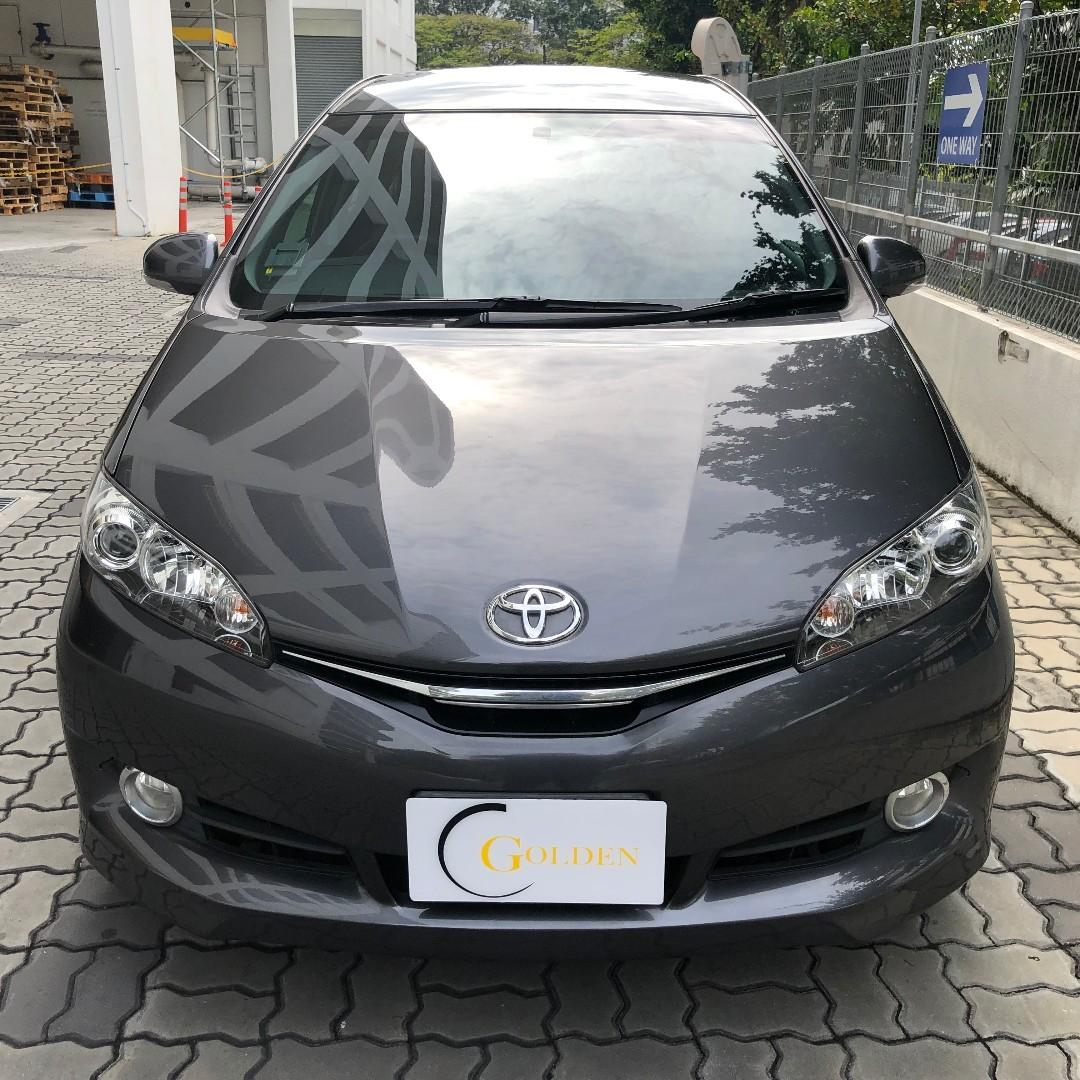 Toyota Wish For Rental PHV / Personal ! Gojek rebate, Grab use welcome