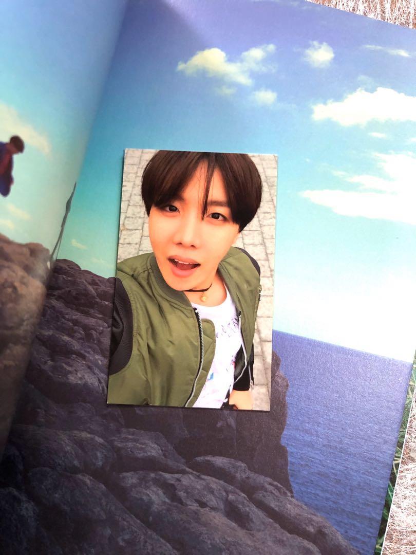 [WTS] BTS HYYH PT2 Blue Version + J-hope Official PC