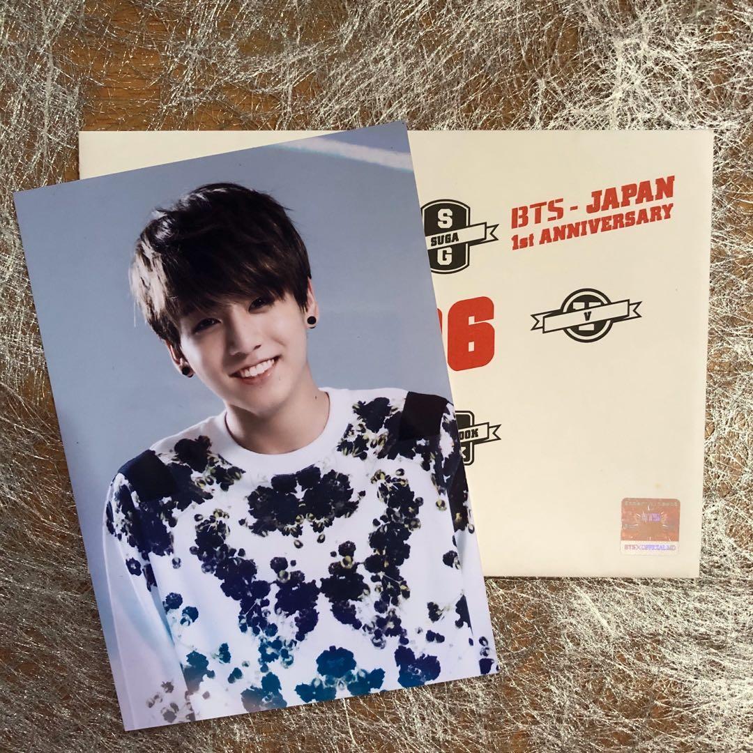 [WTS] BTS Japan 1st Anniversary Official Photo (SUPER RARE)