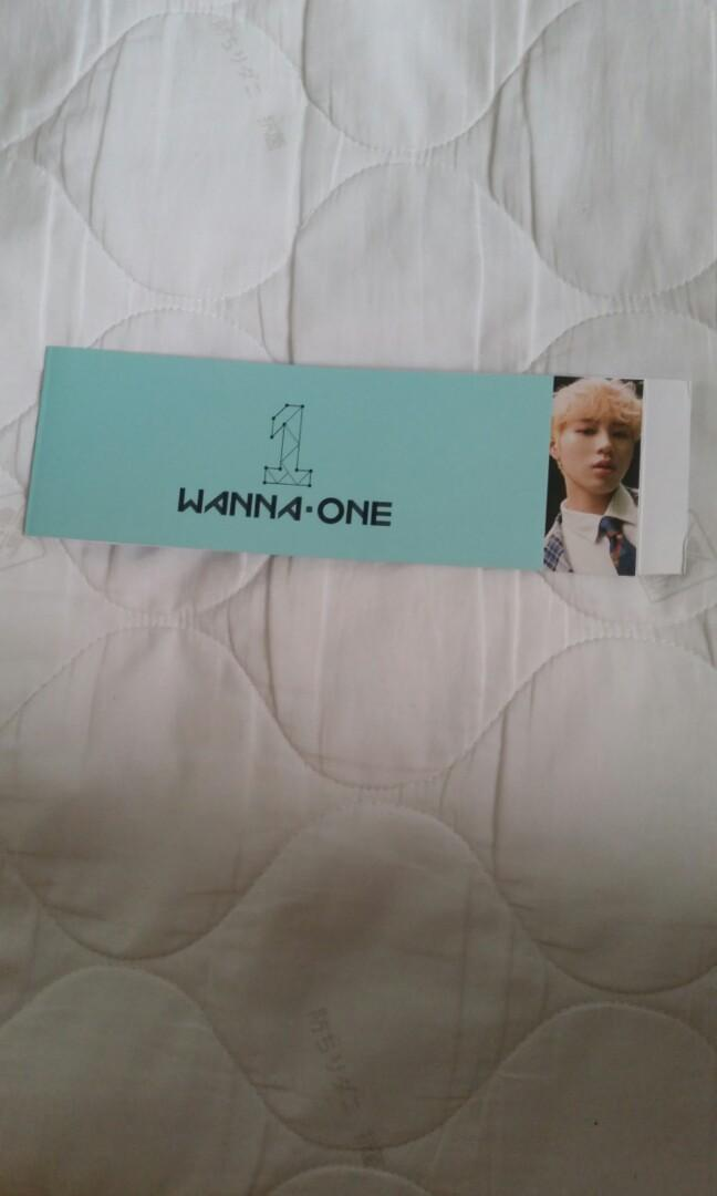 [wts] wanna one power of destiny official sungwoon album sleeve [romance ver.]