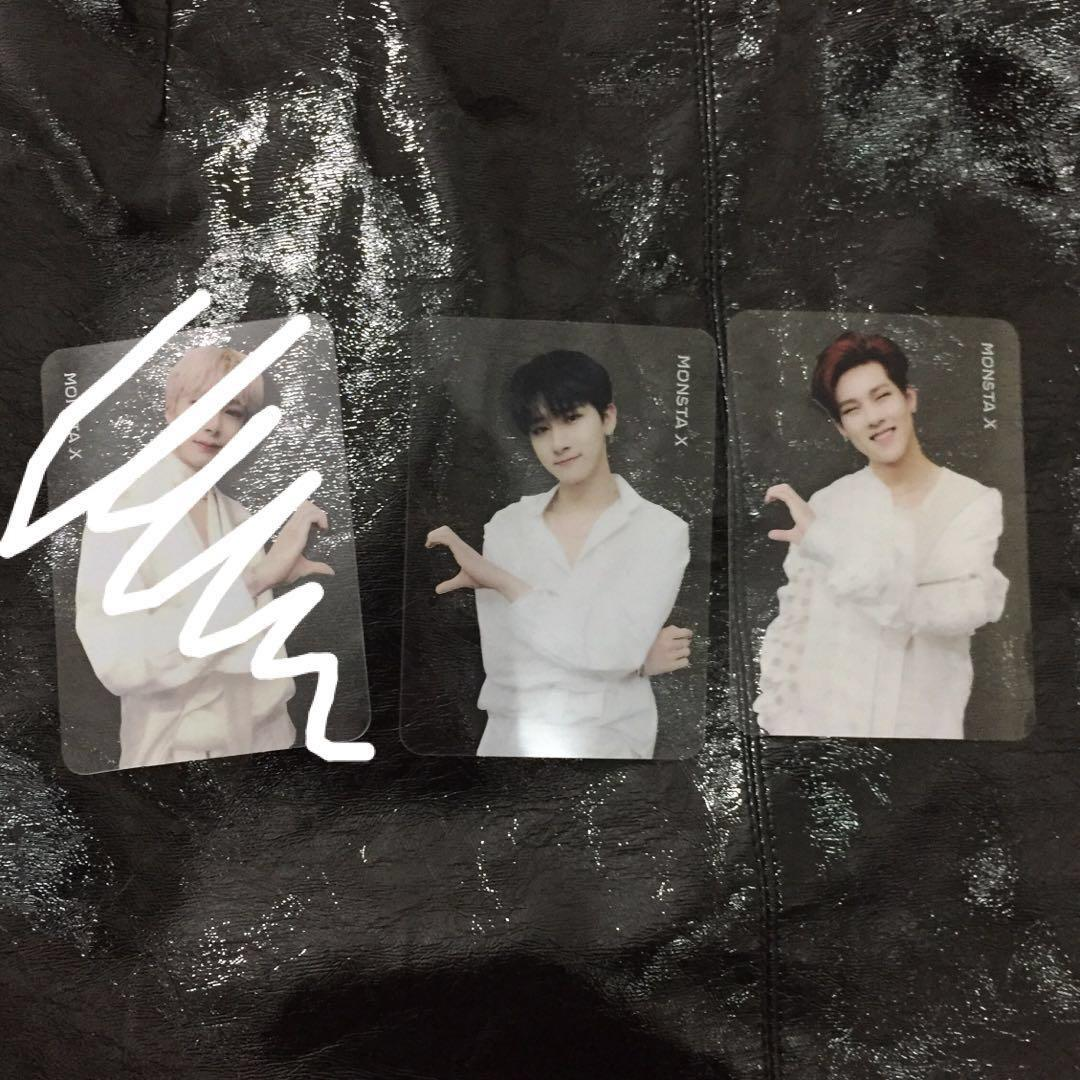 [WTT] MONSTA X 2ND ALBUM - TAKE 2: WE ARE HERE PHOTOCARD