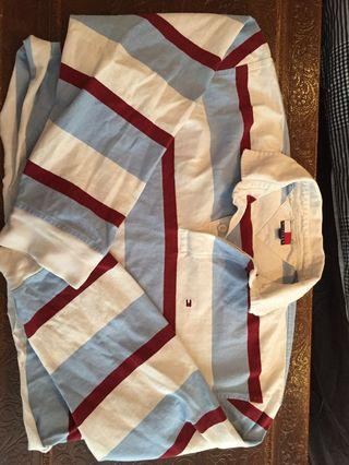 tommy hilfiger cropped long sleeve