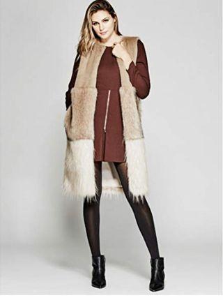 Marciano-Zulima Faux-Fur Vest