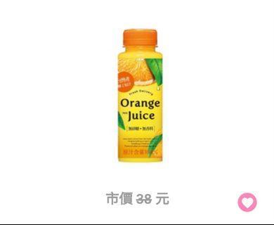 7-11 水果園柳丁綜合果汁 電子兌換券