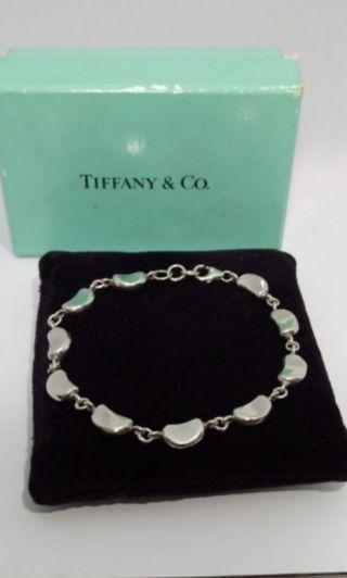 🍄泰版 Tiffany 相思豆滿豆純銀手鍊