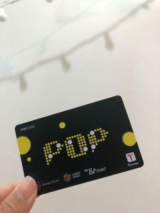 韓國自由行捷運卡T money(內含5900韓元