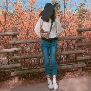Ralph Lauren白色粉紅小馬麻花扣子上衣#出清2019