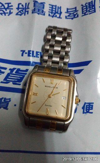 SOLVIL ET TITUS 手錶(正品)鐵達時石英錶