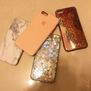 二手/四入裝‼️ iphone手機軟殼 蘋果手機殼