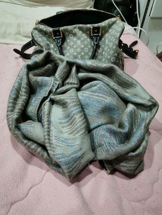 秘魯羊駝毛圍巾