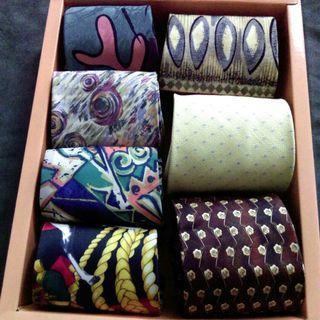 全新二手名牌紳士絲質領帶 任選1條