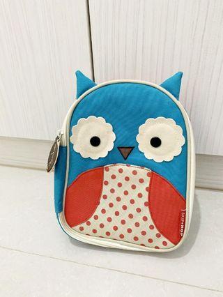 二手近全新~美國 【Skip Hop】 可愛貓頭鷹保溫餐袋