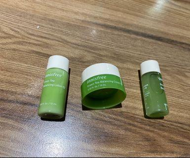 Innisfree綠茶系列小瓶旅行組