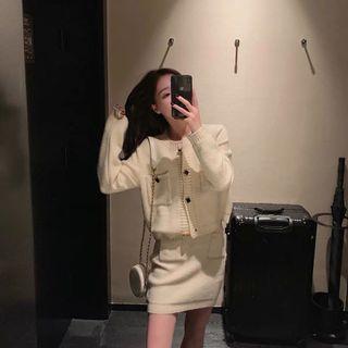 小香風兩件式套裝女 秋冬新款