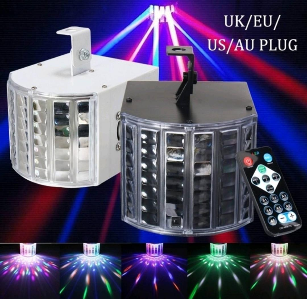 18W 7CH Sound Active DMX Automatic Stage Lighting LED Light Laser