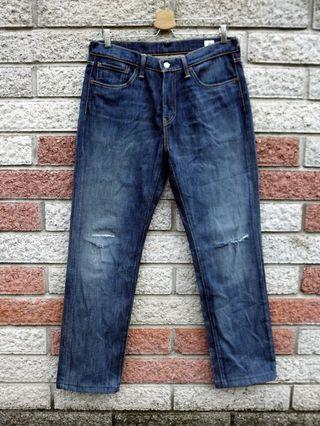 Levis 541 二手牛仔褲- 正品刀割破壞-(LEVIS 18181-0066)-W32