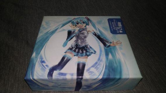 #出清2019 初音未來 Project DIVR  extend Complete Collection  2CD+DVD