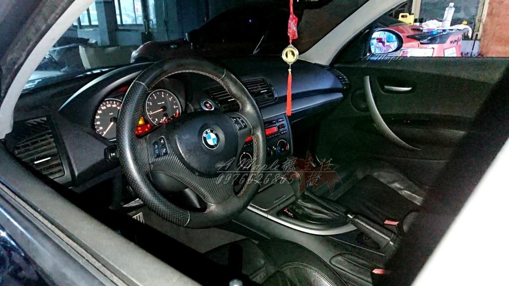 2005 E87 120I 黑 M版 18吋BBS鋁圈 AC排氣管 跑車座椅/粉專→A Maple橙奕(非1M 135I GOLF GTI A180