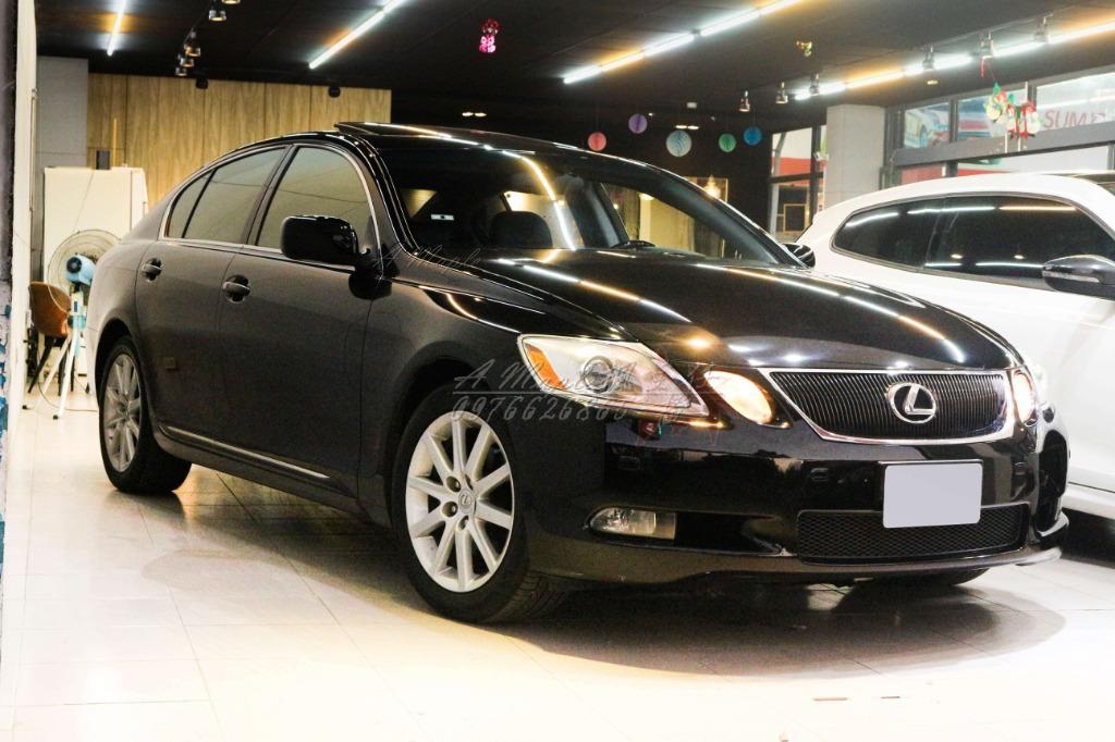 2005年 LEXUS GS300 黑內裝 新車258萬 稀有3.0 黑內裝/粉專→A Maple橙奕(非ES LS IS BMW BENZ AUDI