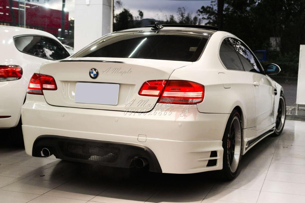 2007年 BMW E92 335CI X派 雙出排氣管 M3式樣精品改/粉專→A Maple橙奕(非M3 328 320 C300 C250 A5 TT