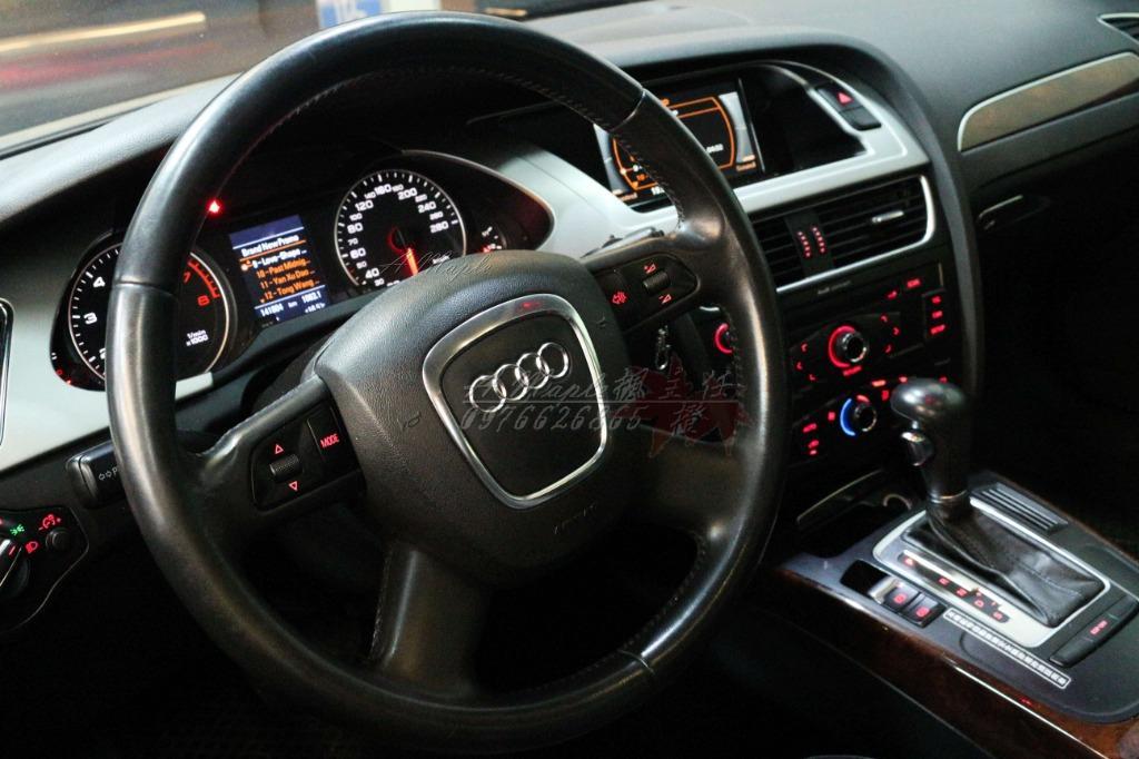 2008年 大改款 AUDI A4 1.8T 改排氣管 18吋鋁圈 /粉專→A Maple橙奕(非A5 S4 RS4 TDI TSI