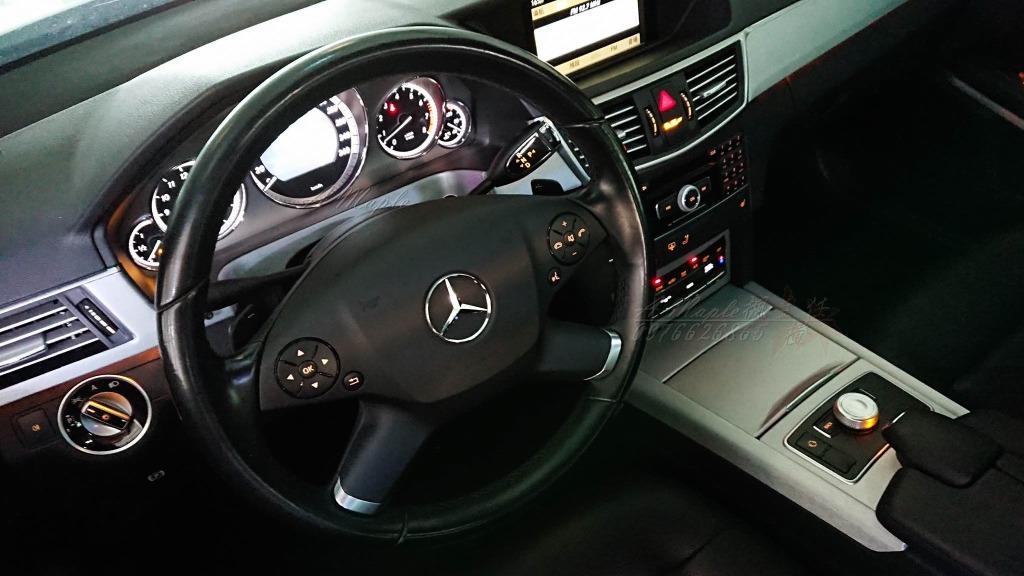 2011 E350 W212 AMG 白色 黑頂篷 HK音響 F1快撥 /粉專→A Maple橙奕(非W213 E300 E240 E200 C300 C250