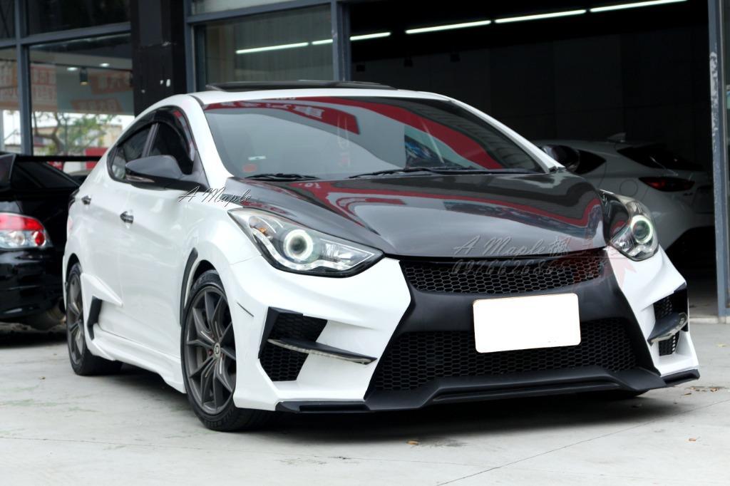 2012 HYUNDAI Elantra 精品改 JGTC空力套件 /粉專→A Maple橙奕(非Mazda focus civic lancer