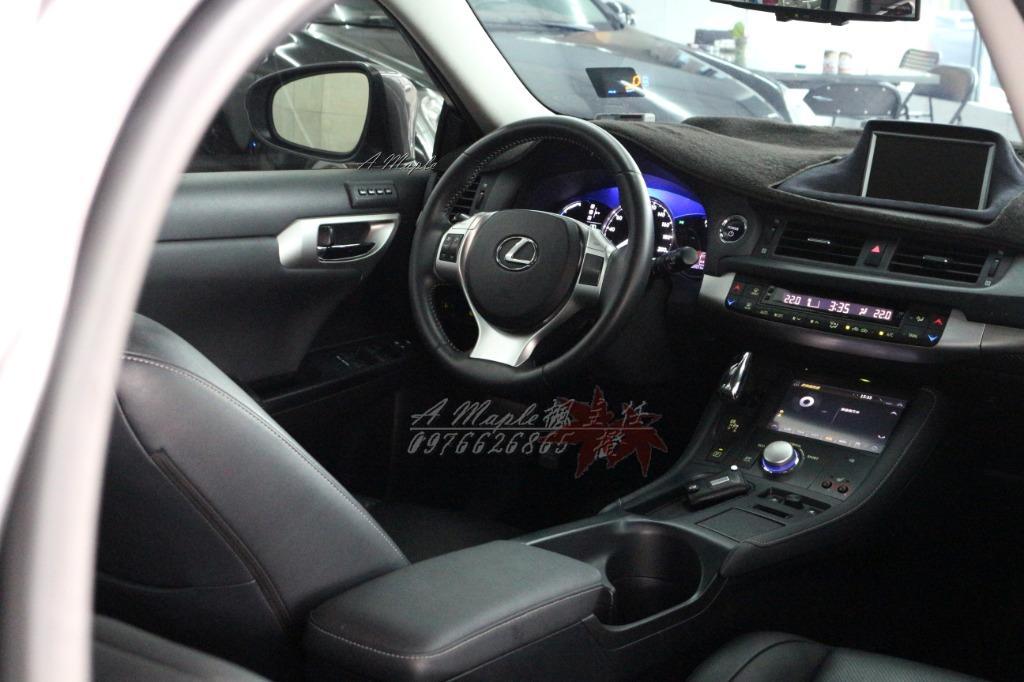 2012年 LEXUS 油電 1.8 CT200H 鐵灰色 多功能大螢幕/粉專→A Maple橙奕(非AUDI A3 A1 BMW 116 118