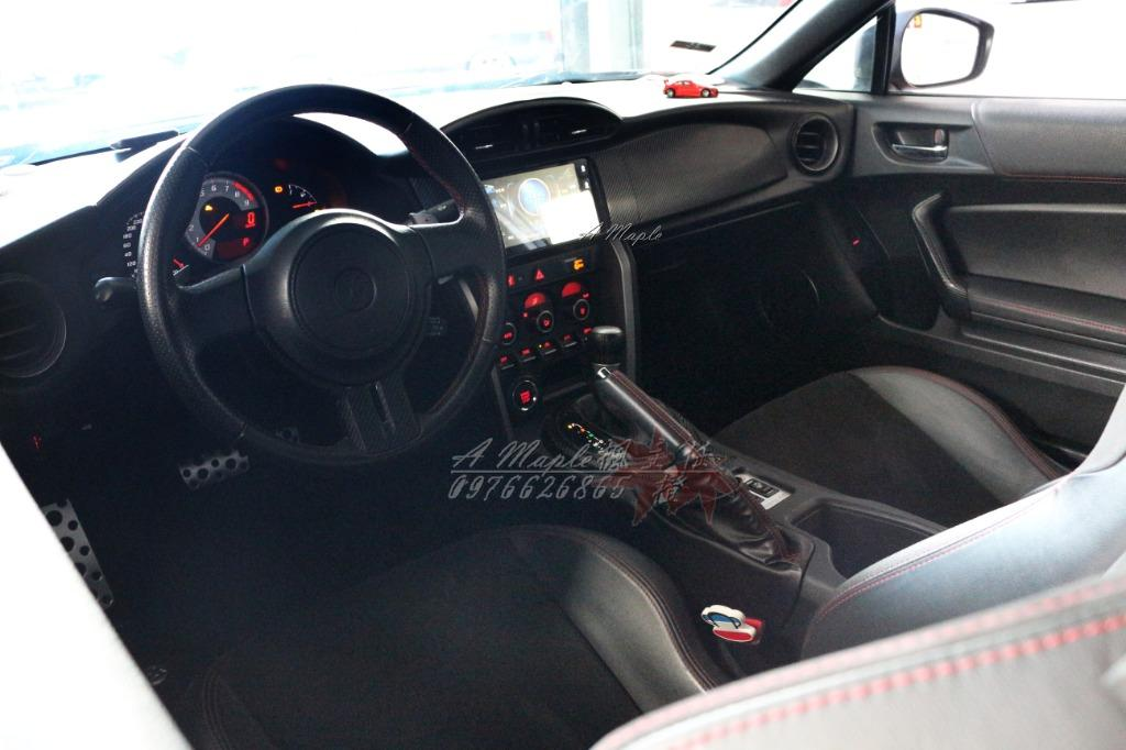 2012 TOYOTA GT86 橘色 空力套件 精品改裝/粉專→A Maple橙奕(非BRZ FRS MX5 C250 335