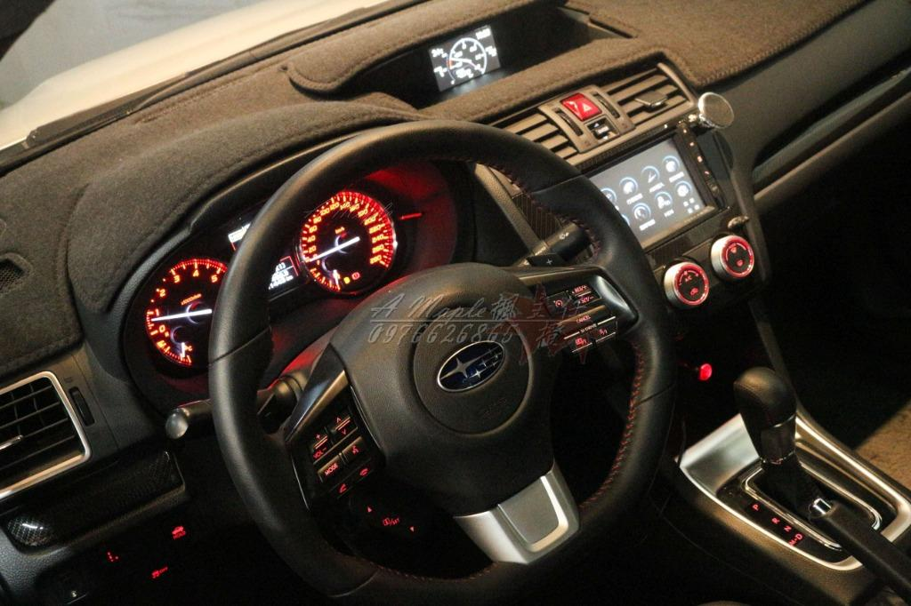 2015年 珍珠白 Subaru WRX 2.0 渦輪 自排 原廠268hp馬力/粉專→A Maple橙奕(非STI IMPREZA 硬皮鯊 GC8