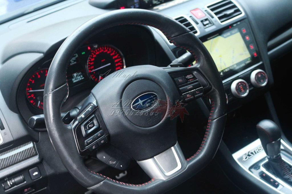 2015年 Subaru WRX STI經典藍 渦輪 自排 外洩壓 XXR鋁圈/粉專→A Maple橙奕(非STI IMPREZA 硬皮鯊 GC8