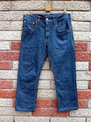 Levis 513 二手牛仔褲- 正品 -(LEVIS 15481-0000)-W36