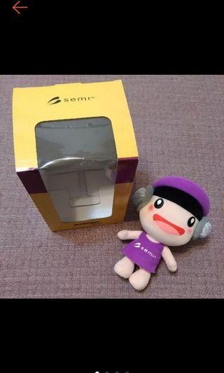 全新 Semicon Taiwan 半導體展 晶晶玩偶 晶晶娃娃 晶圓寶寶 絕版品 限量品. #出清2019