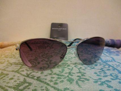 BANANA REPUBLIC 太陽眼鏡 正品 全新現貨只有一支 復古 飛官 質感 時尚 飛行員墨鏡 #出清2019