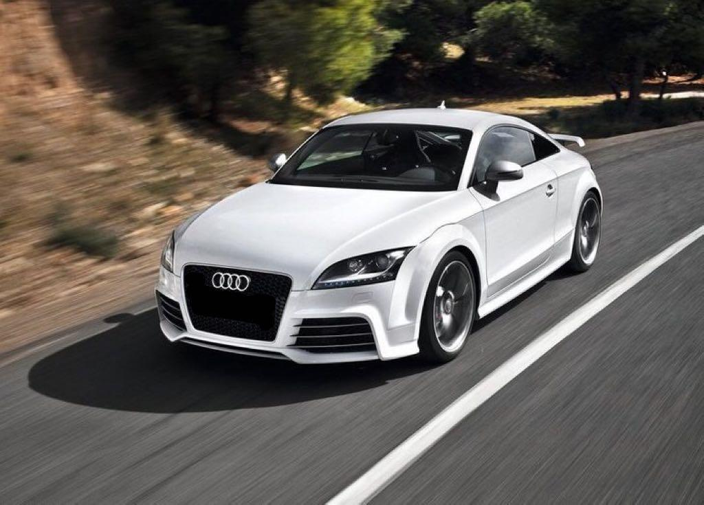 Audi TT wedding rental