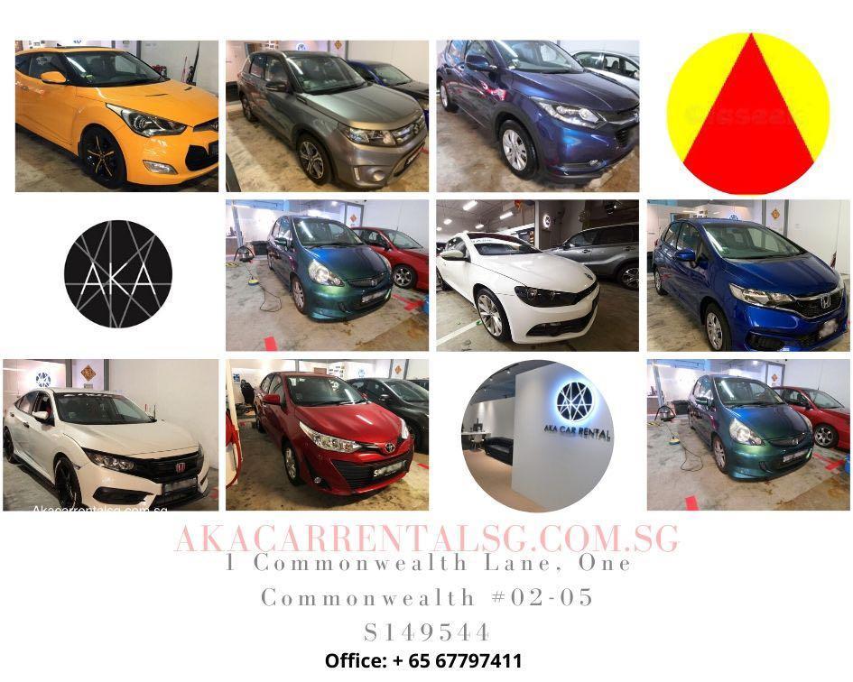 81880754 Car rental pplate welcome