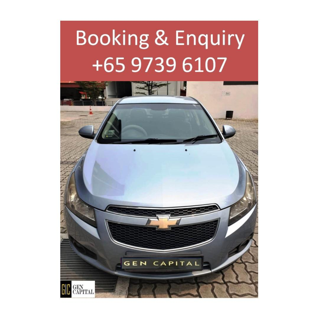 Chevrolet Cruze - Cheapest rates, full support! ANYTIME ANYDAY!!!!