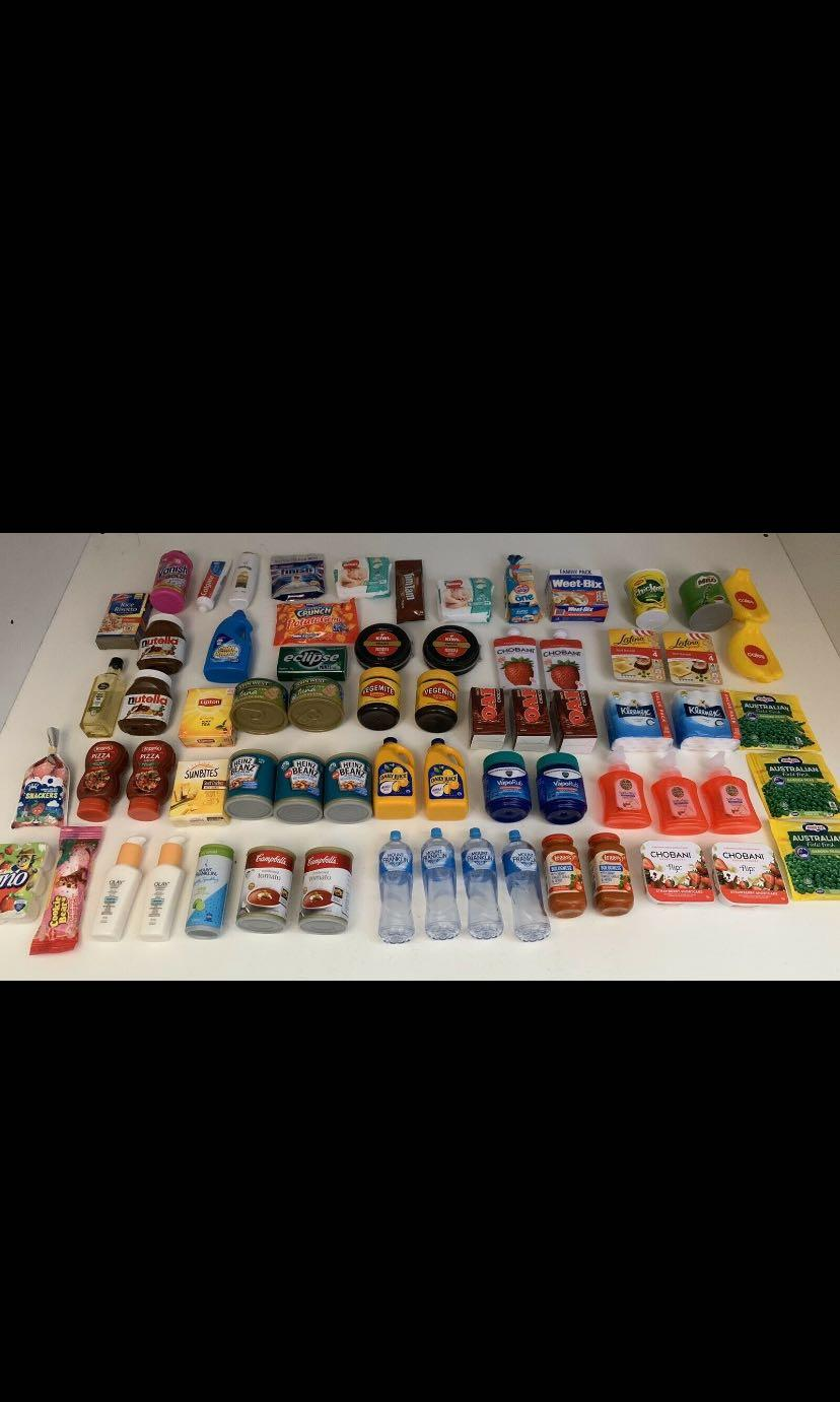 Coles Little Shop Collectable (1&2) + Countdown Collectables