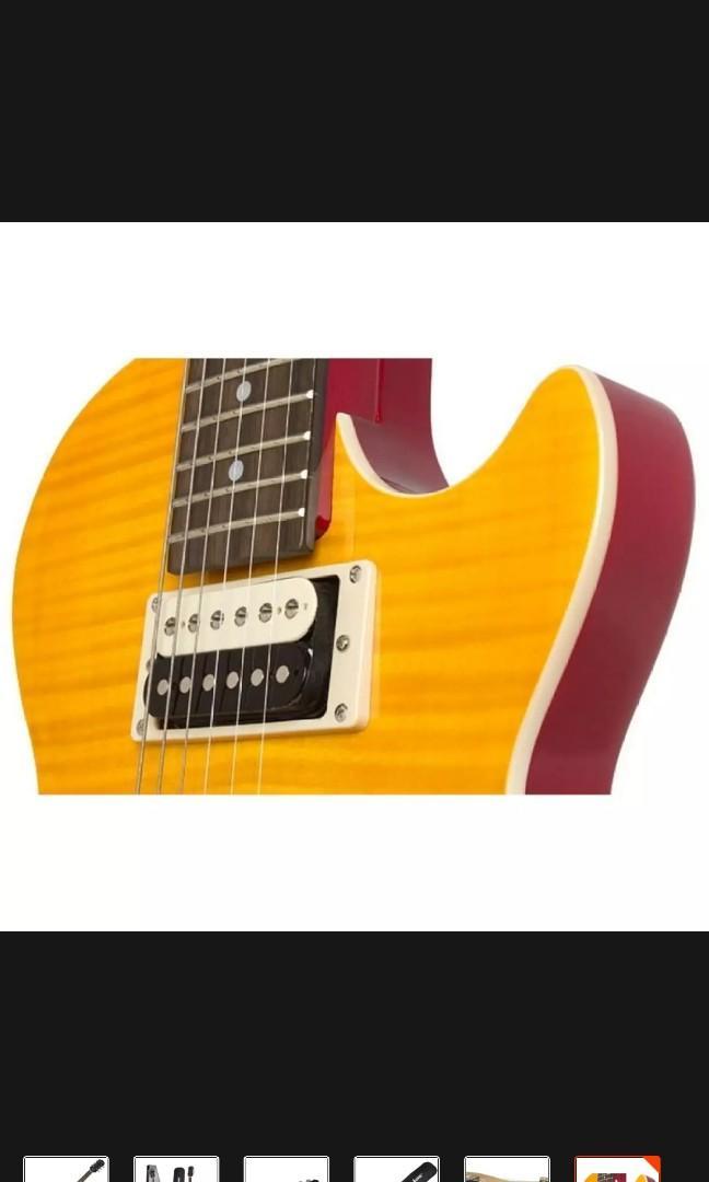epiphone slash afd special ii les paul electric guitar with 2 gadgets music media music. Black Bedroom Furniture Sets. Home Design Ideas