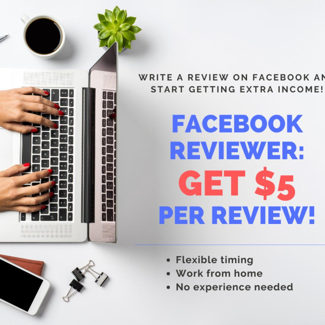 Facebook Reviewer ~ Paid weekly basis!
