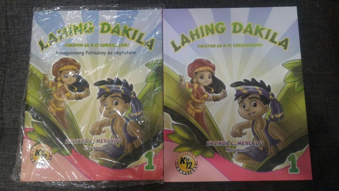 Grade 1  - Lahing Dakila Student Worktext with Teacher's Edition