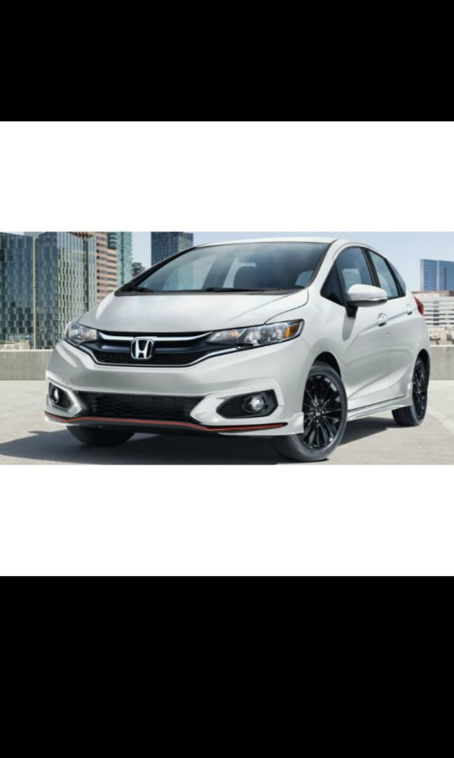 New Honda Fit Hybrid Rental free $4100 petrol promotion (1 year contract)
