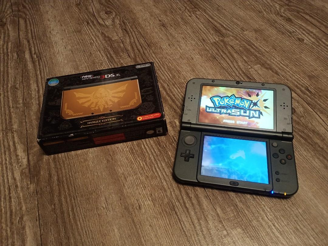 """Hyrule Limited Edition """"new"""" 3DSXL"""