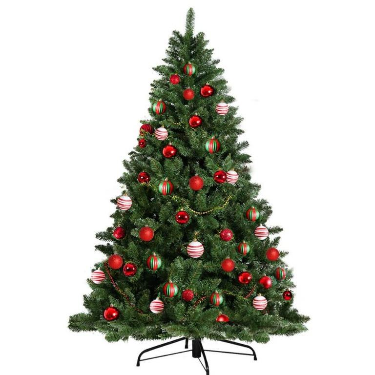 Jingle Jollys 6FT 1.8M Christmas Tree Baubles Balls