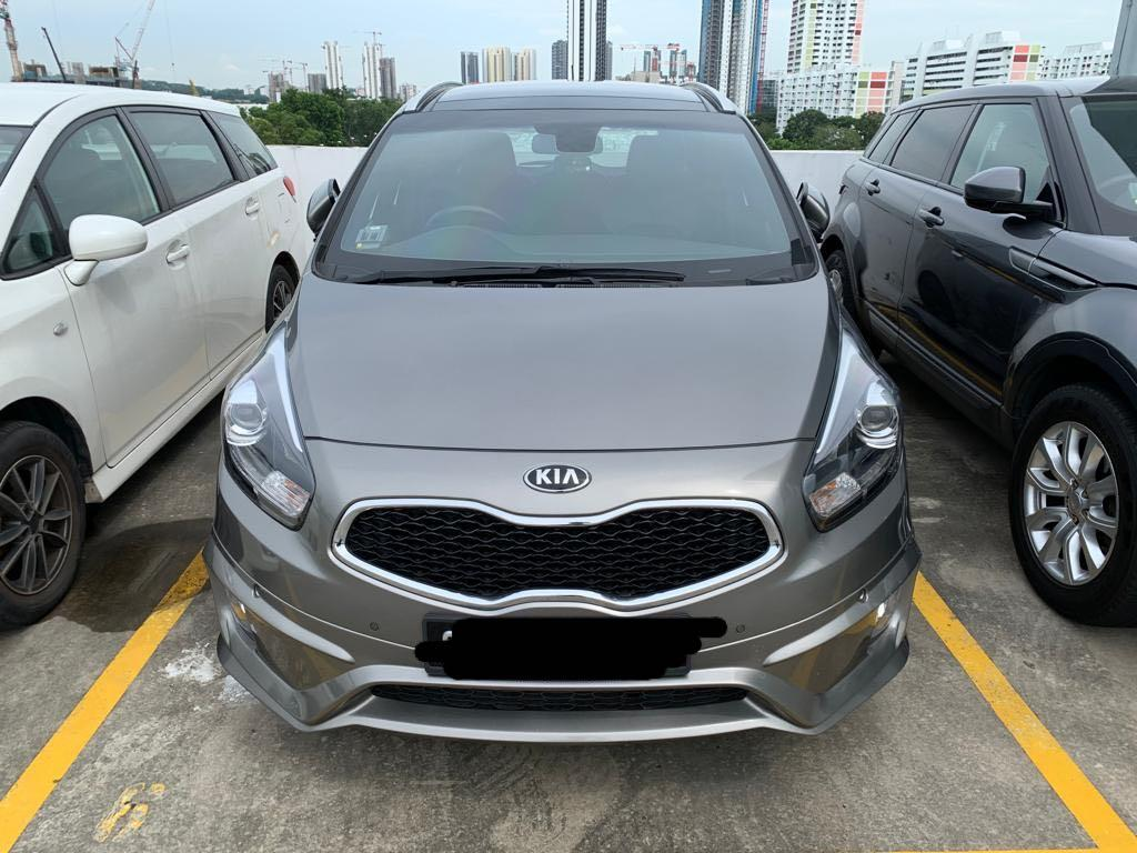 Kia Carens Diesel 2016 For Rent! Cheap!