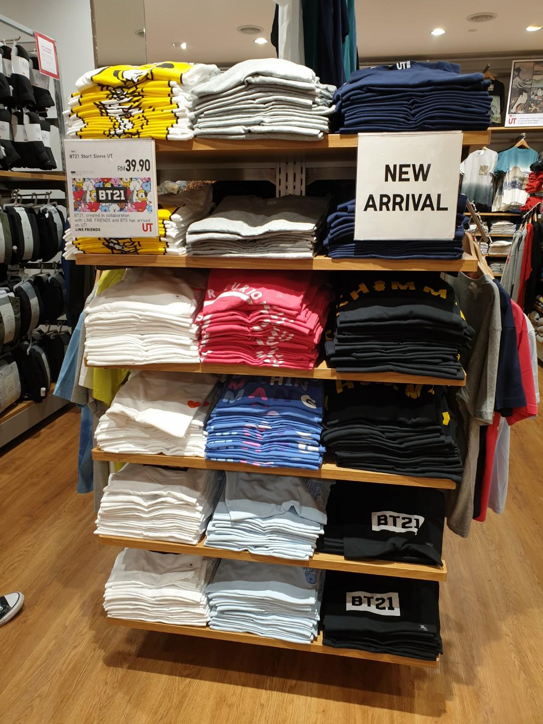 [LIMITED HOUR TODAY 11AM-6PM] Uniqlo Malaysia x BT21 UT Collection Shopping Service (5/12) -CLOSED-